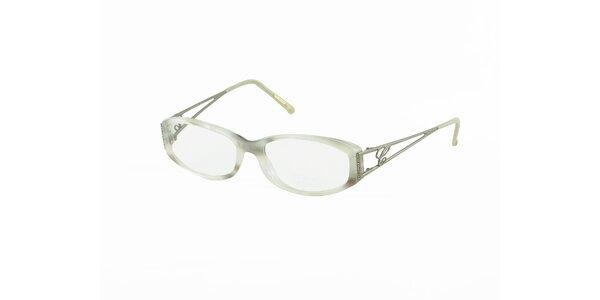 Dámské bílo-šedé dioptrické obroučky Chopard