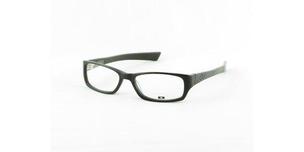 Dámské černé hranaté dioptrické obroučky Oakley