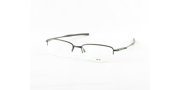 Temně šedé kovové dioptrické obroučky Oakley