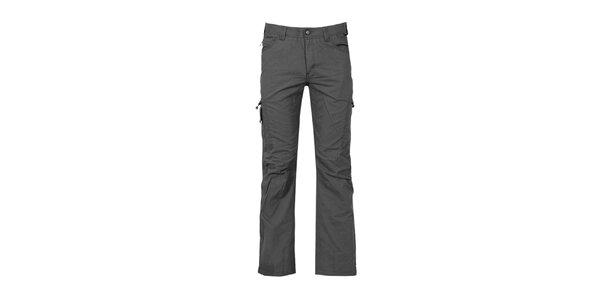 Pánské antracitové kalhoty Bergson