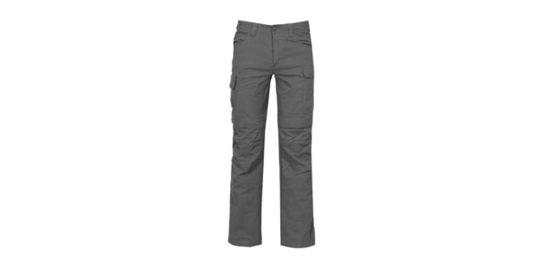 Pánské antracitové nastavitelné outdoorové kalhoty Bergson