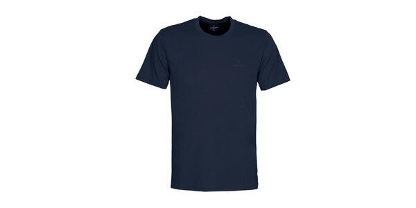 Pánské tmavě modré tričko Bergson