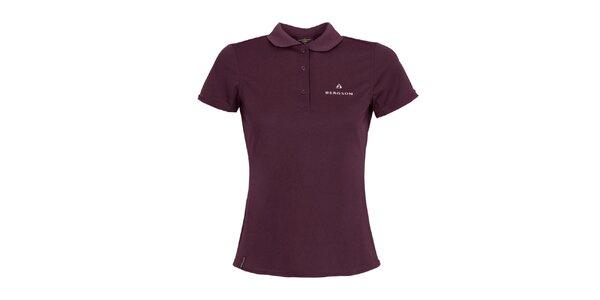 Dámské fialové polo triko Bergson