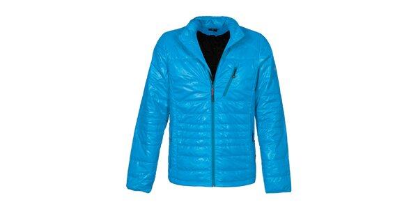 Pánská modrá prošívaná bunda Bergson