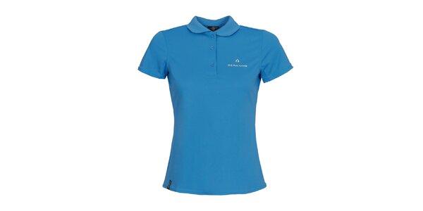 Dámské modré funkční polo tričko Bergson