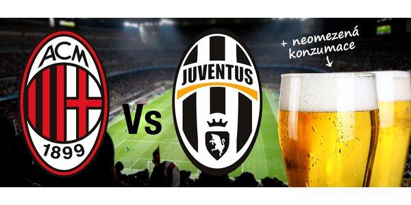 Zájezd na zápas AC Milán vs Juventus Turín. Termín zájezdu již 19.-21.9.2014