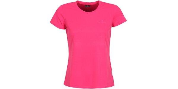 Dámské růžové tričko s krátkým rukávem Bergson