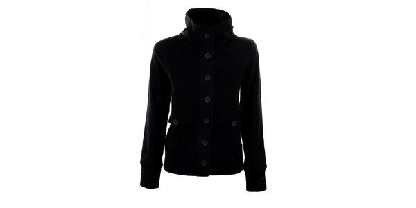 Dámský krátký černý kabátek Big Star