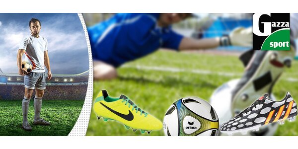 25% sleva na nákup sportovního zboží v Gazza Sport