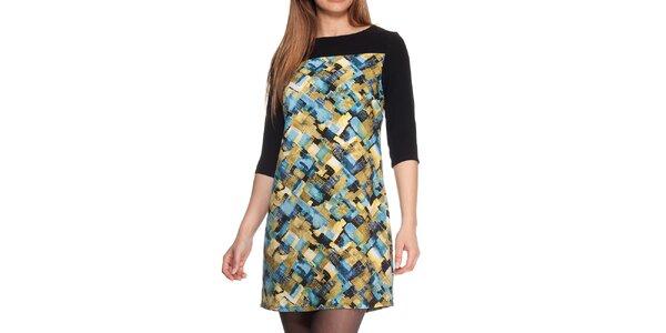 Dámské barevné vzorované šaty Peace&Love
