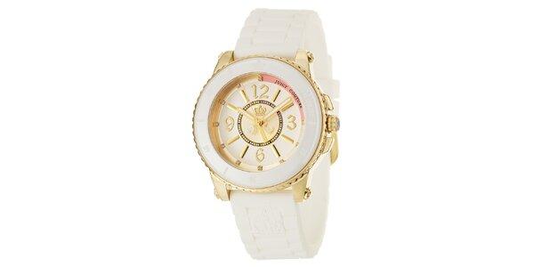 Dámské hodinky se silikonovým řemínkem Juicy Couture