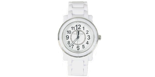 Dámské bílé analogové hodinky Juicy Couture