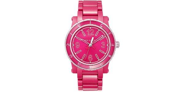 Dámské růžové hodinky Juicy Couture