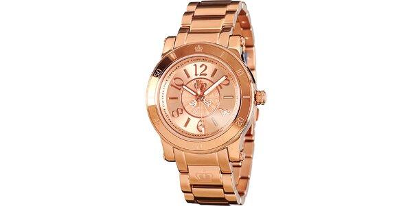 Dámské analogové hodinky z oceli Juicy Couture