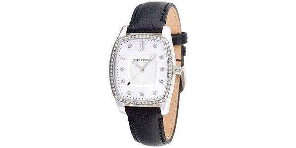 Dámské analogové hodinky s hranatým pouzdrem Juicy Couture