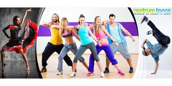Centrum Tance – libovolné taneční lekce a cvičení