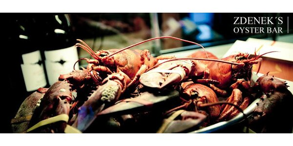 Luxusní mořské delikatesy ve Zdenek's Oyster Baru!