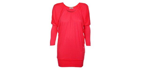 Dámské korálově růžové šaty Love Red