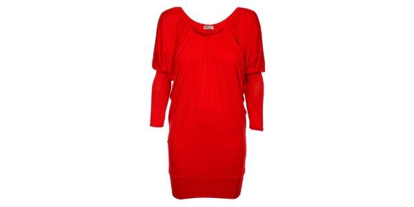 Dámské červené šaty Love Red