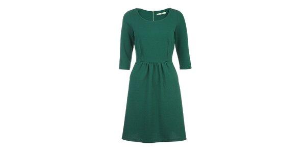 Dámské sytě zelené šaty Uttam Boutique