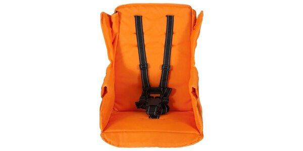 Joovy - Sedačka na kočárek Caboose Too oranžová