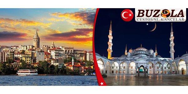 Letecký zájezd do Istanbulu na 4-5 dní