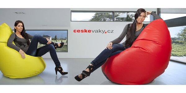 Pohodlný sedací pytel Big Ben české výroby