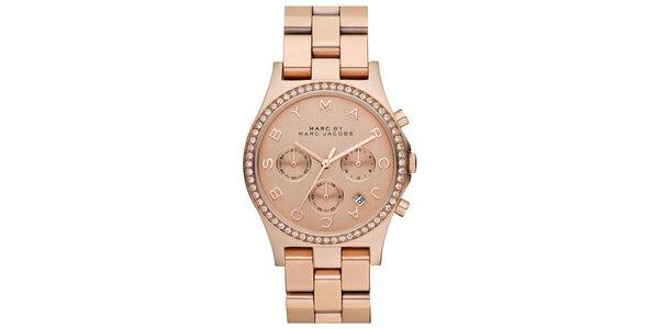 Dámské hodinky se zirkony Marc Jacobs