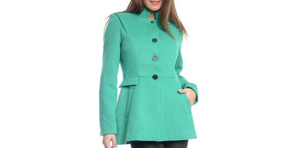 Dámský zelený krátký kabát Vera Ravenna