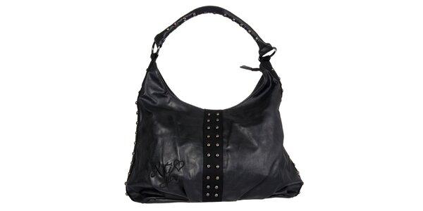 Dámská černá kabelka Xti s kovovými cvoky