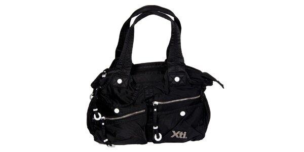 Dámská černá kabelka Xti s kapsami