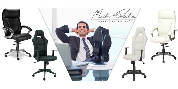 Pohodlná a kvalitní manažerská křesla