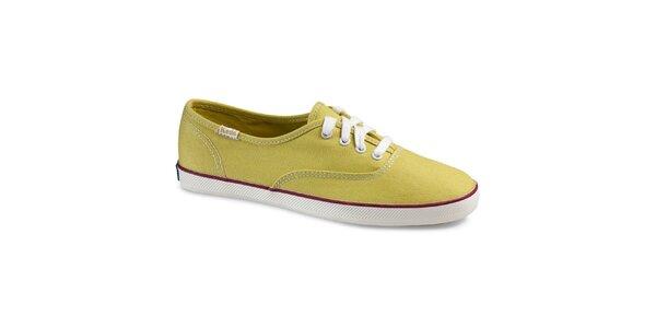 Dámské žlutozelené tenisky Keds