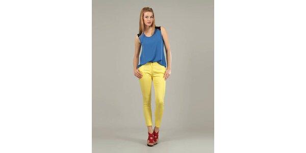 Dámské žluté kalhoty Jubylee