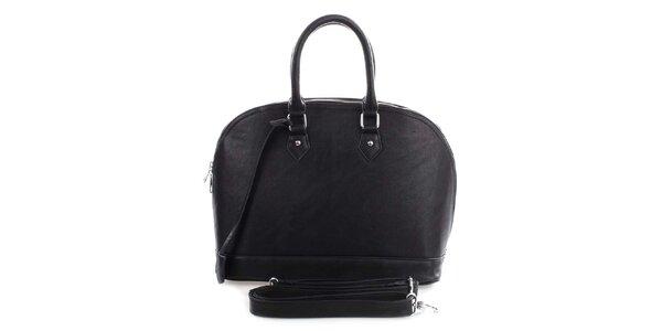 Dámská černá bowlingová kabelka London Fashion