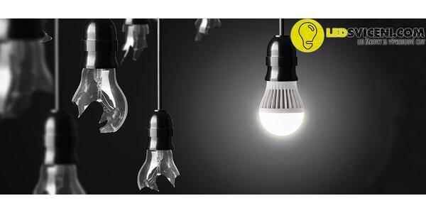 Úsporné LED žárovky s různými typy závitů