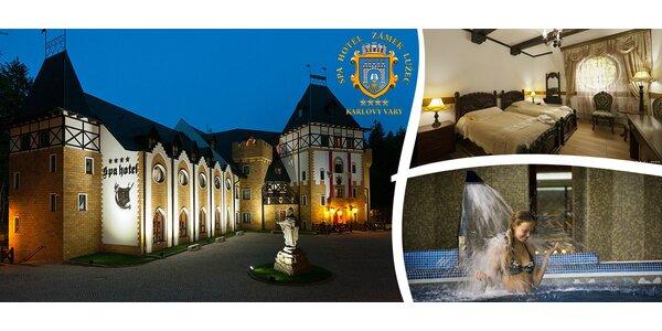 Luxus a wellness v zámeckém hotelu u Karlových Varů
