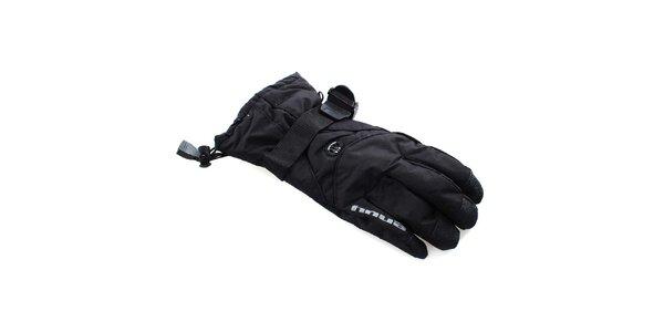 Pánské černé sportovní zimní rukavice Envy