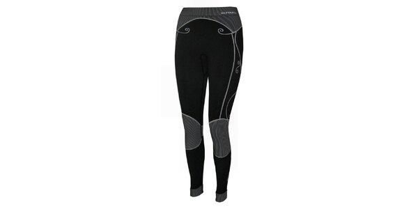 Dámské černé termo kalhoty Envy