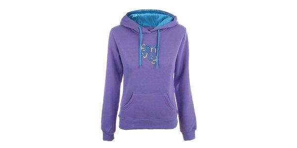 Dámská světle fialová mikina s nápisem Envy