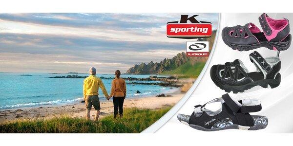 Dámské sportovní odtlumené sandály LOAP
