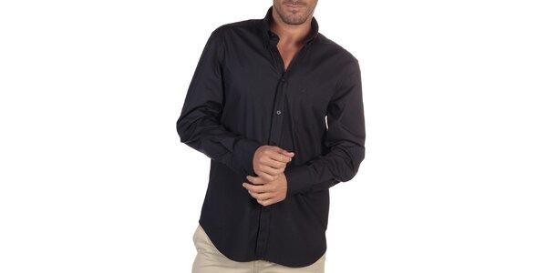 Pánská tmavě modrá košile s náprsní kapsou Nautica