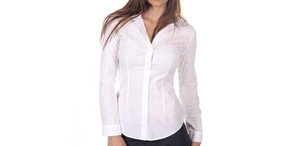 Dámská bílá košile s dlouhým rukávem Nautica