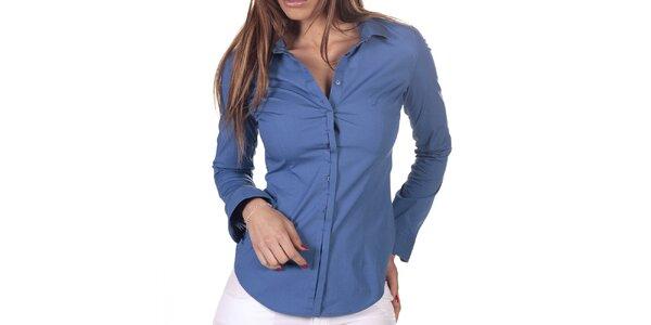 Dámská modrá košile s dlouhým rukávem Nautica