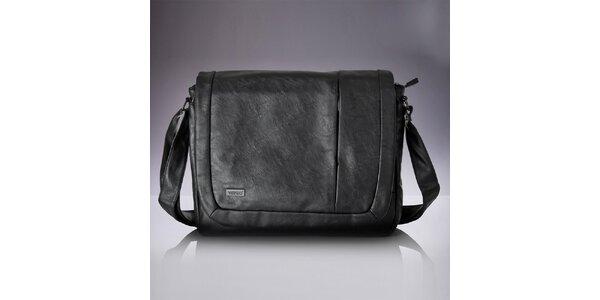 Pánská černá messenger taška Verso