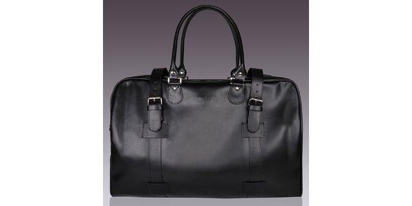 Pánská černá taška Solier