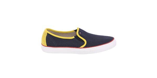 Pánské nazouvací boty se žlutými prvky Tommy Hilfiger