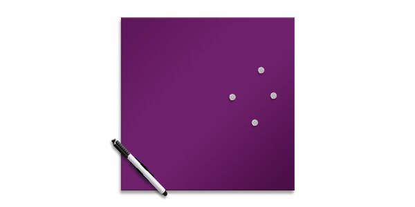 Memo Board Purple