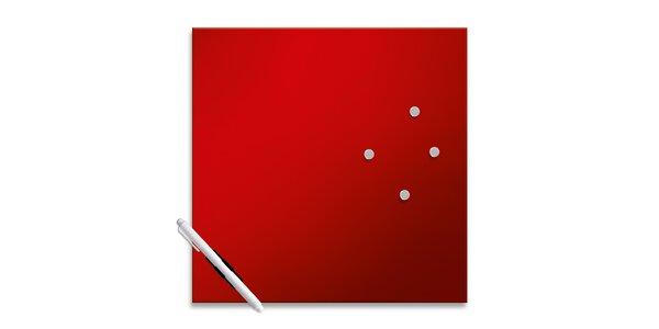 Memo Board Red