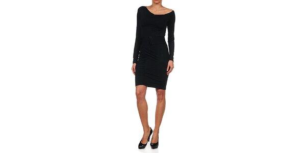 Dámské černé upnuté šaty Guess by Marciano